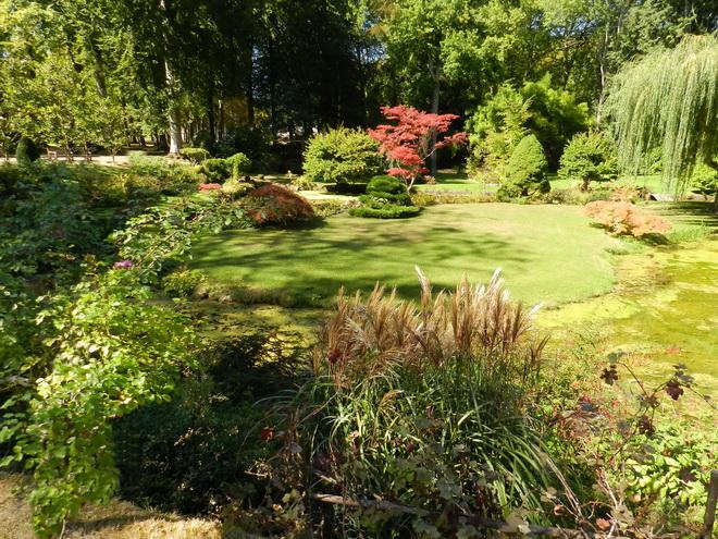 jardin japonais 3 la r gion parisienne le bassin parisien beaut et paysages de notre. Black Bedroom Furniture Sets. Home Design Ideas