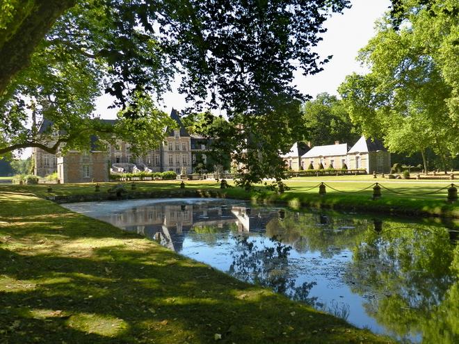 parc et chateau 9 la r gion parisienne le bassin parisien beaut et paysages de notre. Black Bedroom Furniture Sets. Home Design Ideas